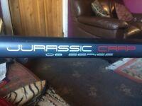 Jurassic Carl 12.5mt fishing pole-