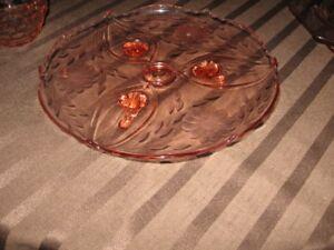 plusieurs morceaux de cristal de rose