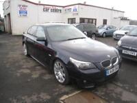 2008 BMW 525 3.0 M Sport Auto . 81000 Miles. Full Leather