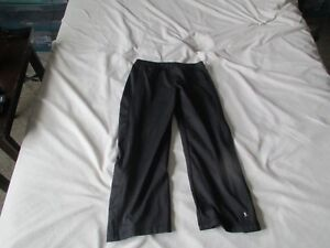 Womens Black Danskins Athletic Pants Size Small