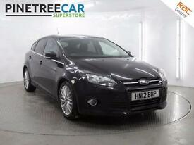 2012 FORD FOCUS 2.0 TDCi Zetec Powershift 5dr Auto