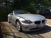 BMW Z4 convertible 97k long mot