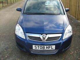 Vauxhall l Zafira 1.6 16v ( 105ps ) 2008 Exclusiv