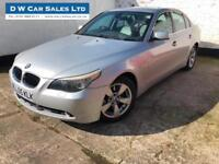 2005 05 BMW 530 SE 3.0TD Automatic Silver Diesel Saloon 5 Door Low Mileage