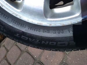 2003 Honda Odyssey rims and tires