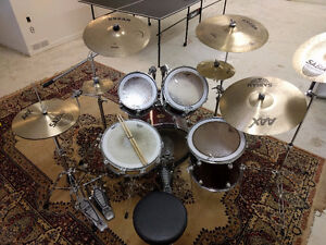 Pearl Drum Kit for Sale (Cymbals Included)