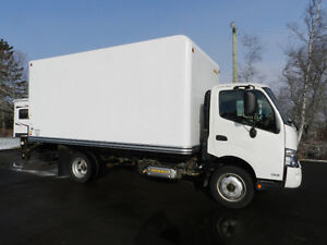 2014 Hino 195 Cab and Chassis Diesel Power Lift Gate