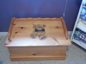Solid Pine Chest / Toy Box