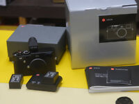 Leica M240 ( M typ 240 black) EVF2, 2 BP-SCL2, Angelo Pelle Case