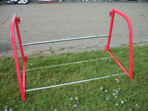 Canadian Tire wall mounted tire rack