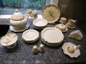 Set de vaisselle terre cuite