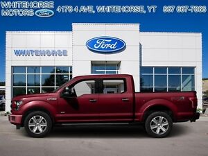 2015 Ford F-150 4X4-SUPERCREW XLT-157 WB   - $227.38 B/W