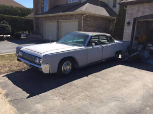 1964 Lincoln Continental Convertible Project