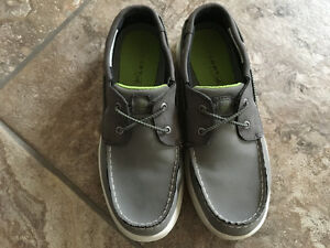 Boy's Sperry Boat shoes, size 3M, excellent condition