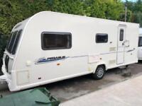 2012 Bailey Pegasus 514 4 berth caravan MOTOR MOVER FITTED Awning BARGAIN !