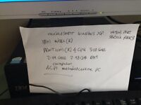 Computer intel 4 cpu