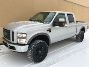 2008 FORD F-350 FX4 CREW CAB DIESEL LEATHER ! GREAT DEAL !