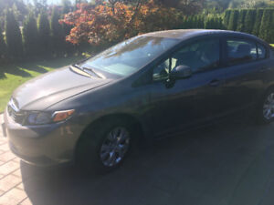 2012 Honda Civic LX - A/C - Bluetooth - Keyless Entry