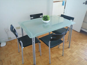 Ikea Table plus 4 chairs