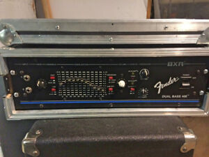 Fender BXR Dual Bass 400 Vintage Amplifier Head