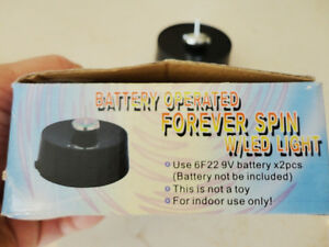 Brand New battery Operated Forever Spin Top with LED Light Kitchener / Waterloo Kitchener Area image 4