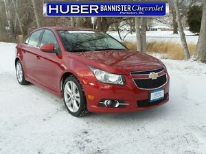 2013 Chevrolet Cruze RS/Heated Seats/Leather