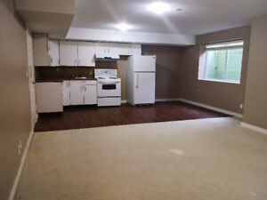 2 bedrooms of spacious basement suite for rent