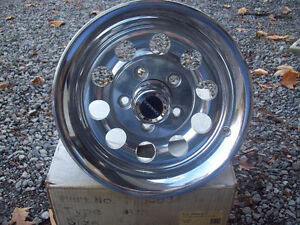"Set of Four Cragar 14"" x 6.5"" wide GM five bolt pattern new"