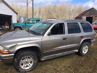 2001 Durango (parts vehicle)