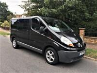 2007 Renault Trafic 2.0 TD dCi SL27 Mini Bus DIESEL AUTOMATIC ONLY 72K
