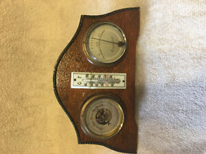 Antique Barometer / Hygrometer