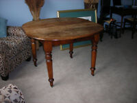 Big nice antique table for Thanksgiving? Free Collingwood