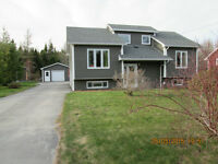 Beautiful home in Glovertown with lots of land