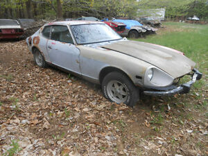 1974 DATSUN 260Z PROJECT CAR