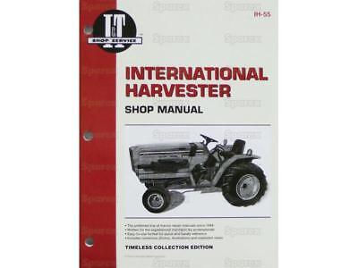 International Harvester 234 244 254 Tractor Shop Service Manual It Ih-55 New