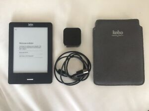 "EREADER KOBO TOUCH / EBOOK / TOUCH-SCREEN 6"" E-INK DISPLAY"