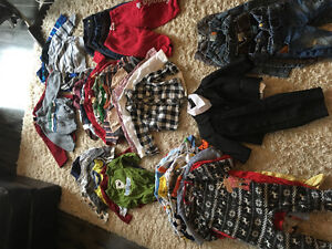 Lot of boys clothes 12-18 months