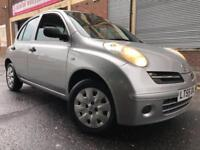 Nissan Micra 55REG 1.2 16v S 5 door AUTOMATIC, 2 OWNERS, GENUINE LOW MILEAGE