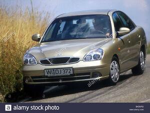2000 Daewoo Nubira Sedan