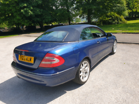 Mercedes clk convertable 2004