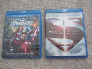 The Avengers or Man Of Steel on Blu-ray