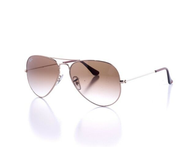 New Genuine Ray-Ban Aviator Sunglasses RB 3025 001/51 Gold 55mm Mens Womens