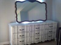 Shabby Chic 9 drawer dresser