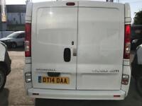 2014 Vauxhall Vivaro 2.0 CDTi Sportive 2900 Panel Van 4dr (LWB, EU5) Diesel whit