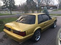 1989 Ford Mustang fox body
