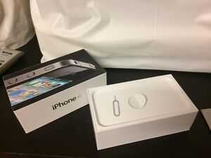 iPhone 4 box only and SIM eject  tool