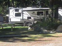 Snowbirds camp for only $299.00 in Popular Nanaimo RV Park.