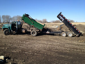 Loam, Gravel and Mulch Delivery (403) 831-0658