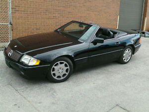 1991 Mercedes-Benz 500 SL Convertible **CERTIFIED AND ETESTED*
