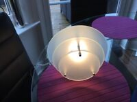 Next boxed glass table lamp